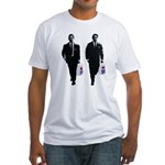 Kray twins Fitted T-Shirt