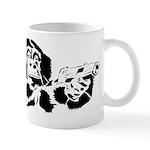 Black chimp Mug