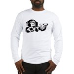 Black chimp Long Sleeve T-Shirt