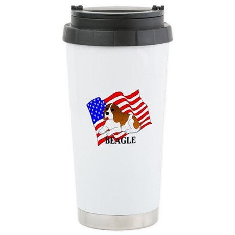 Beagle USA Stainless Steel Travel Mug