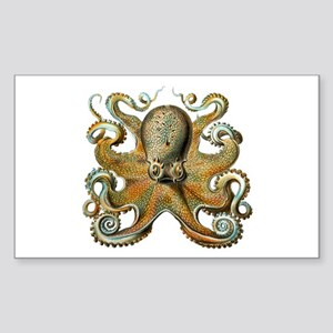 Octopus Sticker (Rectangle)