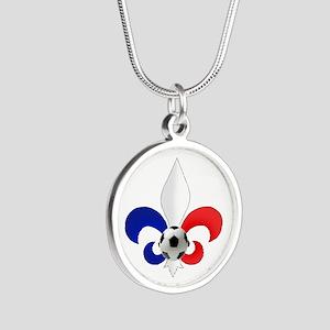 French Fleur de Lis Necklaces