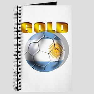 Argentina Soccer Gold Journal