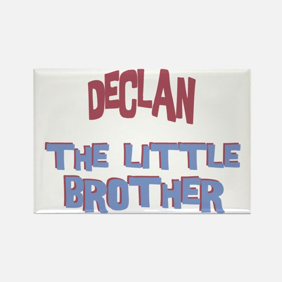 Declan - The Little Brother Rectangle Magnet