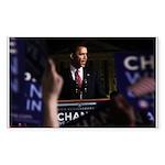 Obama Art Rectangle Sticker