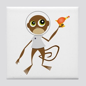 Space Monkey Tile Coaster