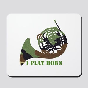 Camo French Horn Mousepad