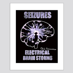 ELICTRIAL BRAIN STORMS Small Poster