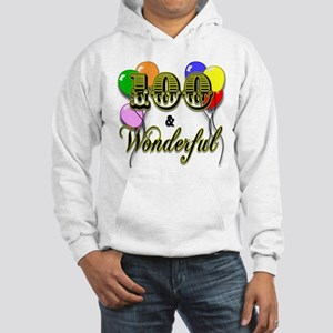 100 and Wonderful Hooded Sweatshirt