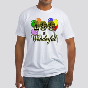 100 and Wonderful Fitted T-Shirt