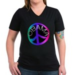 I LOVE MY T SHIRTS: Women's V-Neck Dark T-Shirt
