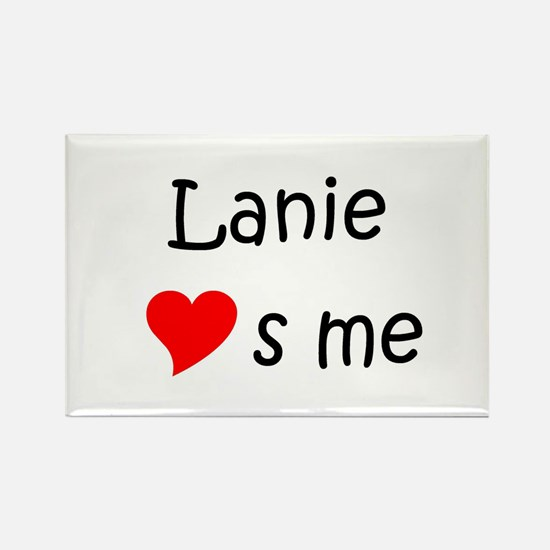 Cool Lanie Rectangle Magnet