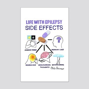 SIDE EFFECTS Mini Poster Print