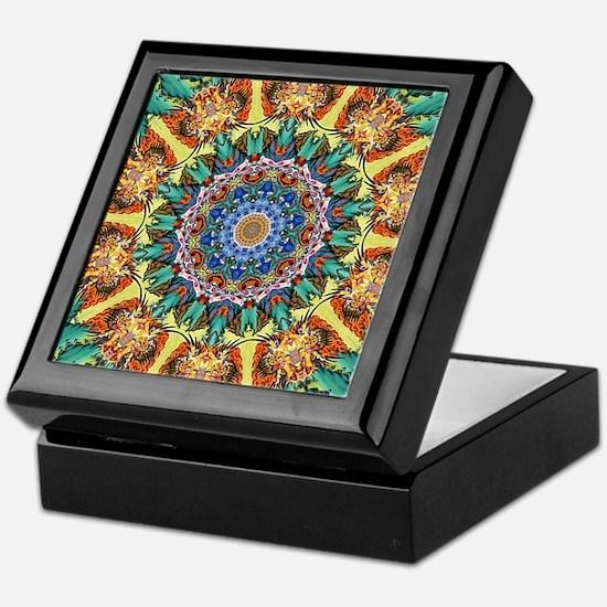 Beautiful mandala 12 Keepsake Box