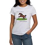 Elegant Saddlebred Horse Women's T-Shirt