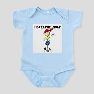 I Breathe Golf Infant Bodysuit