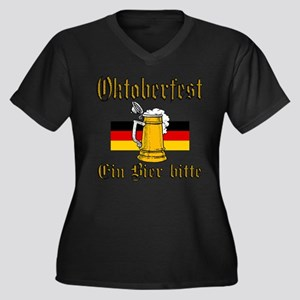 A Beer Please Plus Size T-Shirt