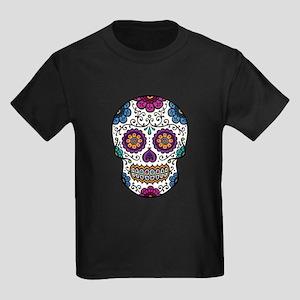 Sugar Skull Kids Dark T-Shirt