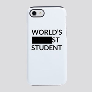 Gift for Worlds Blank Studen iPhone 8/7 Tough Case
