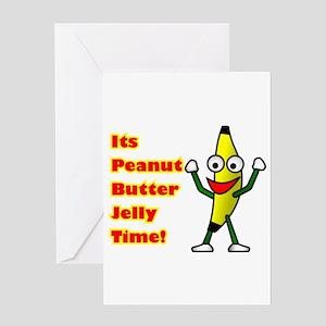 PBJT Square Greeting Cards