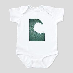 Green Wave Infant Bodysuit