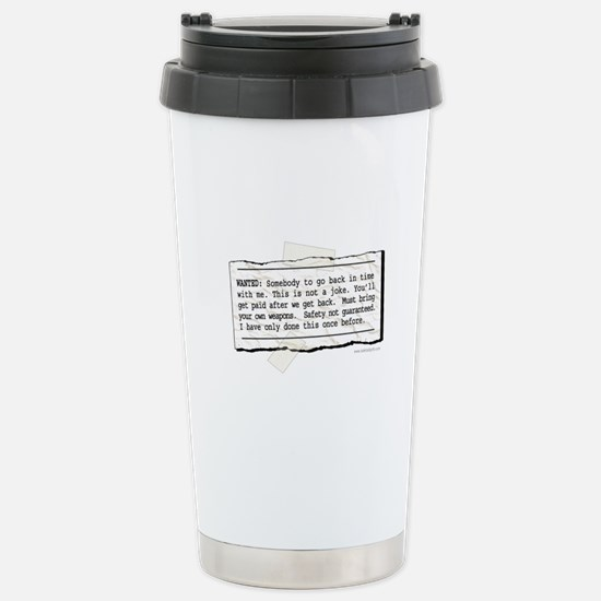 Back in Time... Stainless Steel Travel Mug