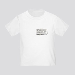 Back in Time... Toddler T-Shirt