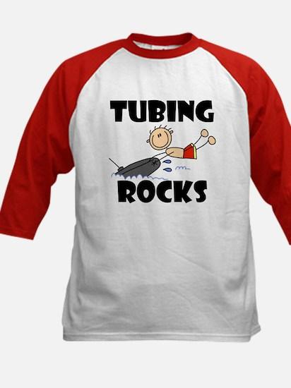 Tubing Rocks Kids Baseball Jersey