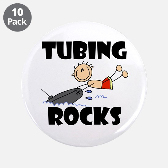 "Tubing Rocks 3.5"" Button (10 pack)"