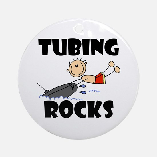 Tubing Rocks Ornament (Round)