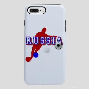 Russia Soccer Player iPhone 8/7 Plus Tough Case
