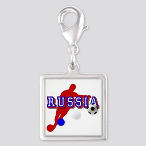 Russia Soccer Player Charms