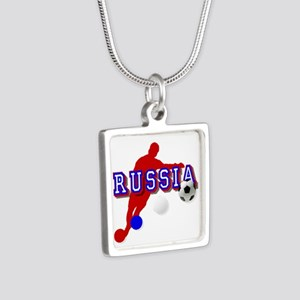 Russia Soccer Player Necklaces