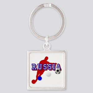 Russia Soccer Player Keychains