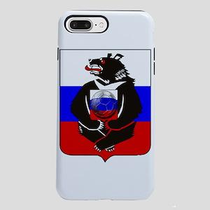 Russian Football Bear iPhone 8/7 Plus Tough Case