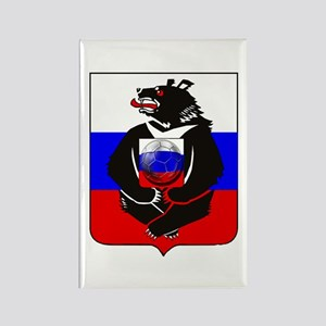 Russian Football Bear Magnets