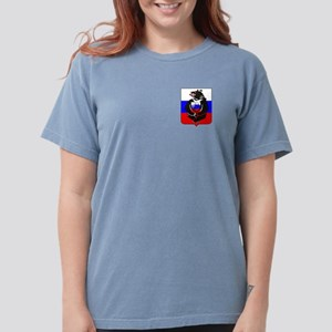Russian Football Bear Womens Comfort Colors® Shirt