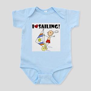I Love Sailing Infant Bodysuit