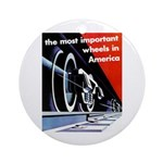 The most important Wheels- Keepsake (Round)