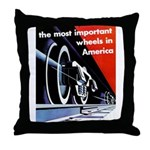 The most important Wheels- Throw Pillow
