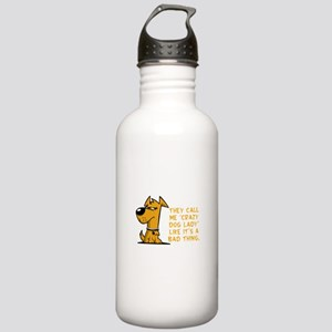 They call me crazy dog Stainless Water Bottle 1.0L