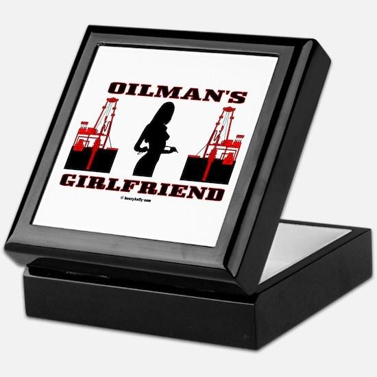 Oilman's Girlfriend Keepsake Box