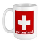 Swiss Cross-2 Large Mug