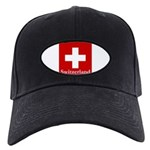 Swiss Cross-2 Black Cap
