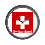 Swiss Cross-2 Wall Clock
