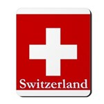 Swiss Cross-2 Mousepad