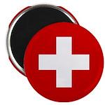 Swiss Cross-1 Magnet