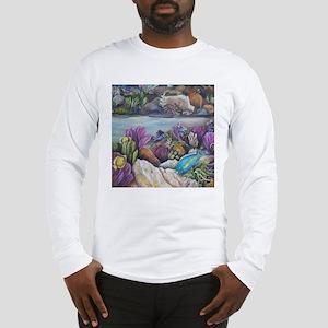 Tropical sea #3 parrorfish Long Sleeve T-Shirt