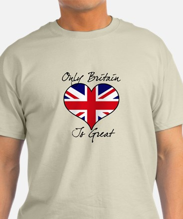 Only Britain Is Great T-Shirt