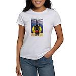 Black Cat Halloween Women's T-Shirt
